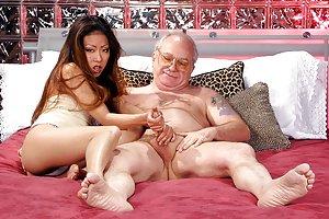 Sexy Asian Handjob