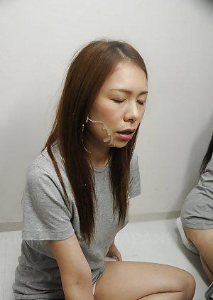 Sexy Asian Cumshot