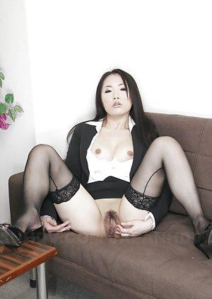 Sexy Asian Spreading